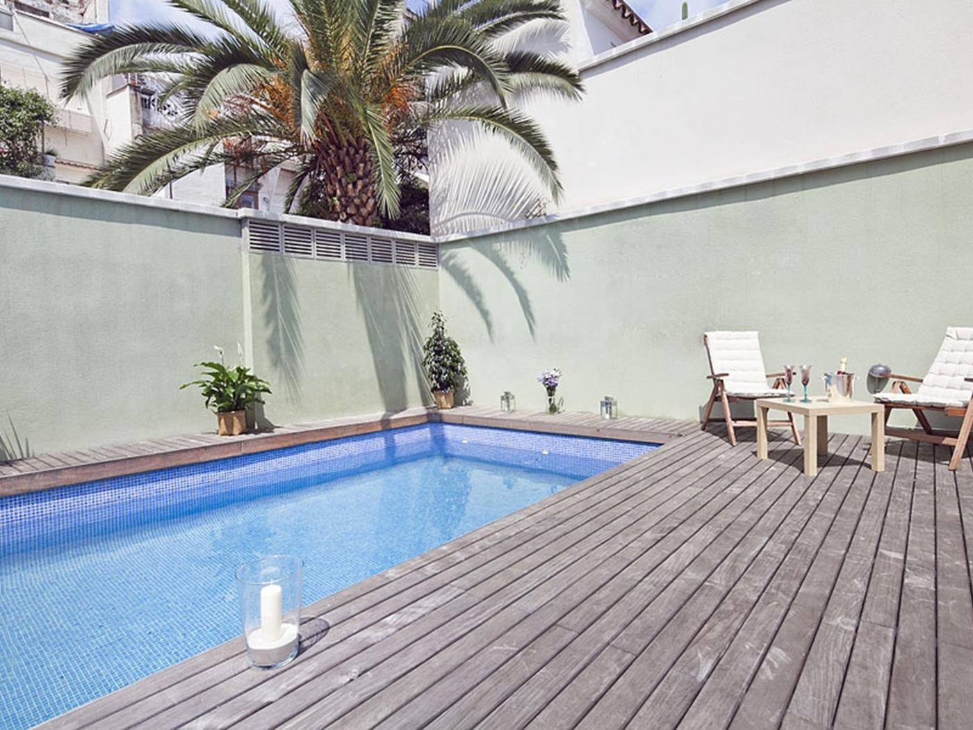 Appartement avec Terrasse et Piscine à Sagrada Familia pour 6 - My Space Barcelona Appartements