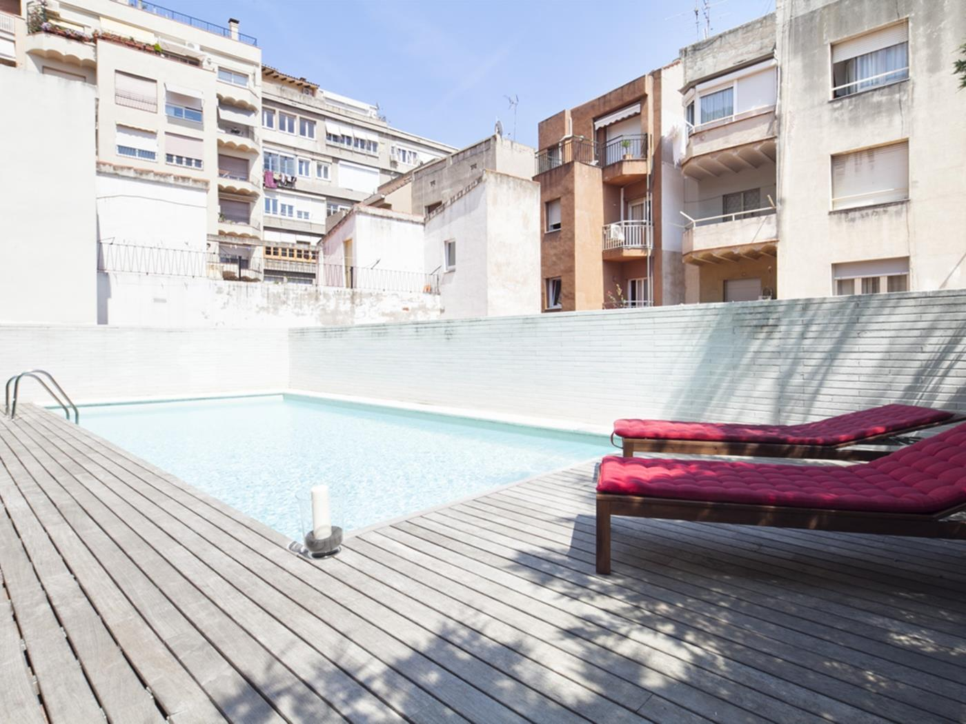 Attique avec Terrasse et Piscine près du Centre-ville - My Space Barcelona Appartements