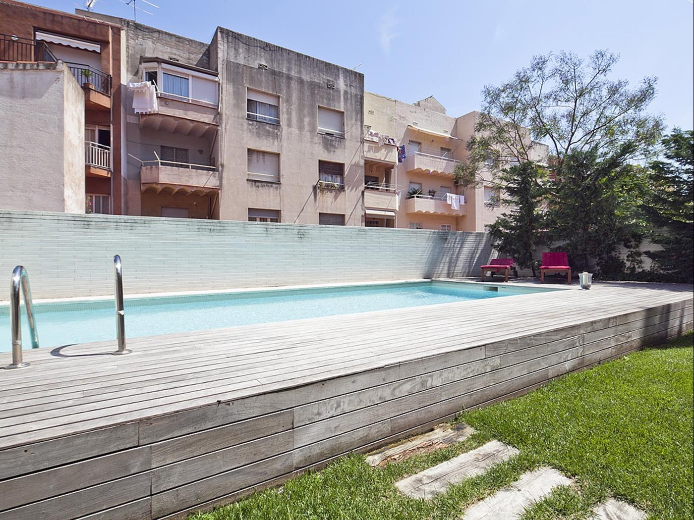 Attique avec Piscine et Terrasse Privée près du Centre - My Space Barcelona Appartements