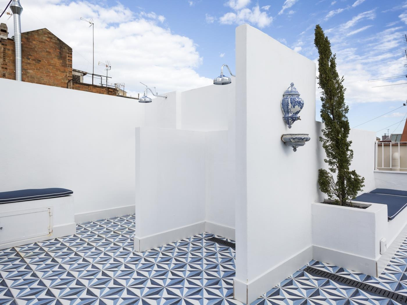 Appartement avec balcon et rooftop commun - My Space Barcelona Appartements