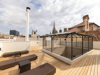 Amazing apartment w/ terrace in the heart of Barce