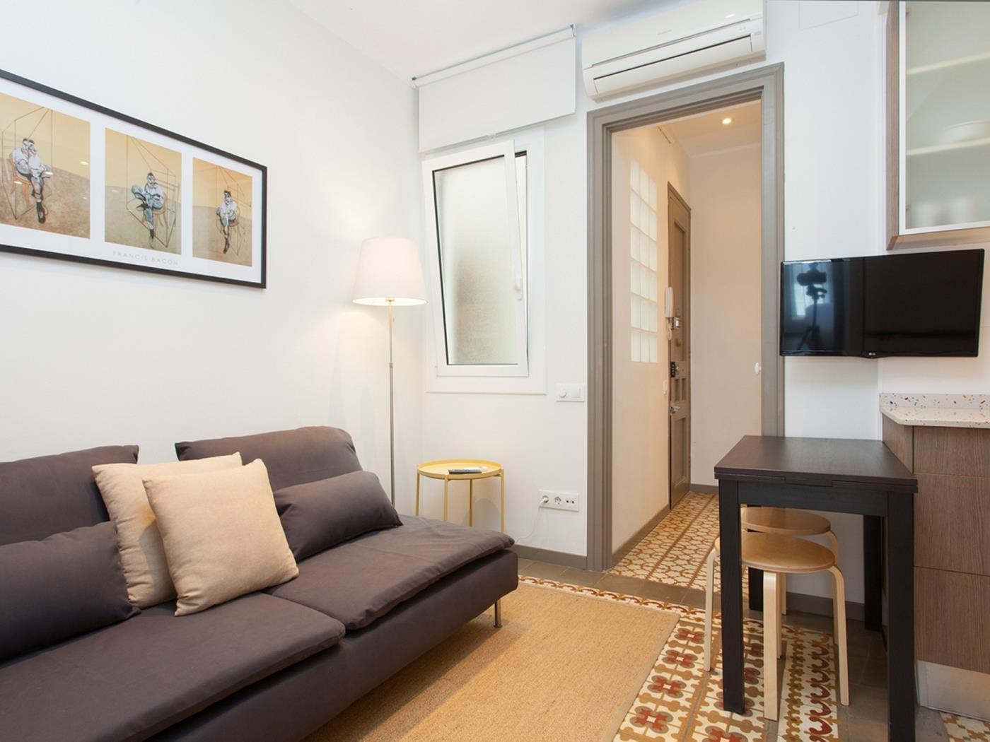 Charmant appartement avec un balcon pour 2 - My Space Barcelona Appartements