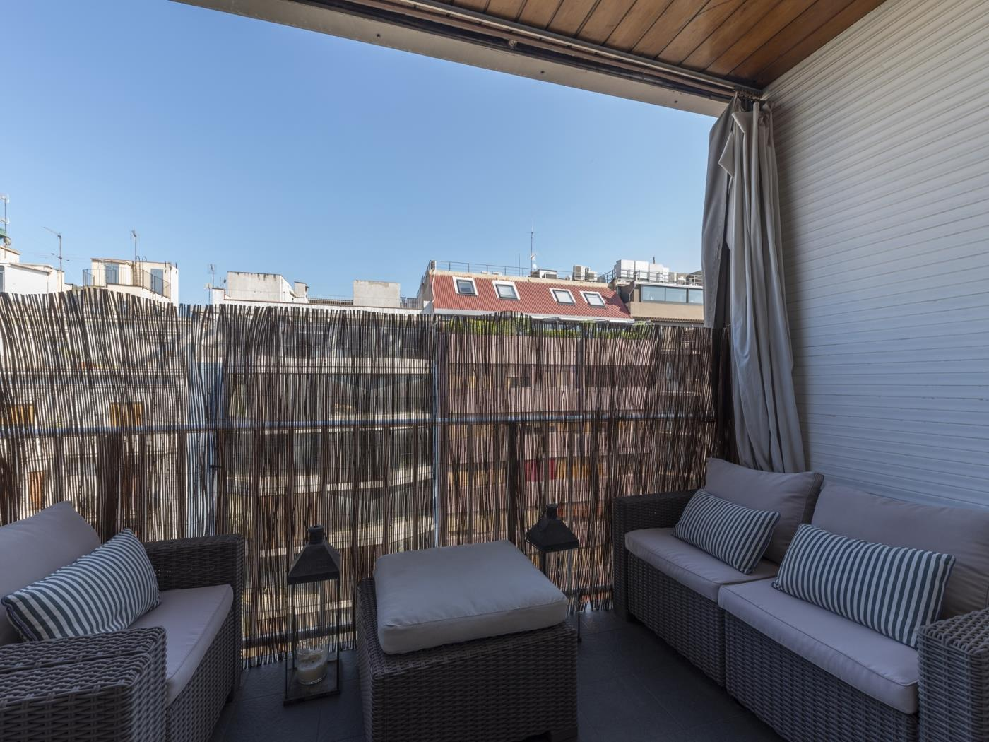 Appartement lumineux avec terrasse privée et parking à Sant Gervasi - My Space Barcelona Appartements
